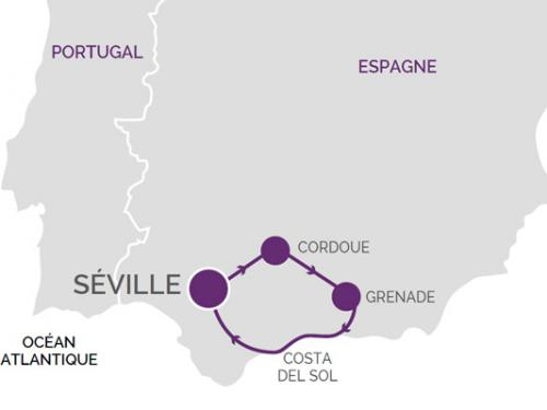 Andalousie Carte Didentite.Circuit Toute L Andalousie Andalousie Espagne Avec Voyages Leclerc