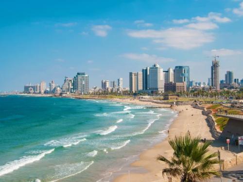 Circuit Mosaique israelienne et extension Tel Aviv