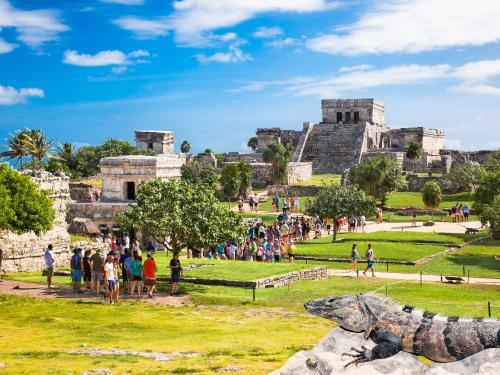 Circuit Entre civilisations aztèque et maya ****