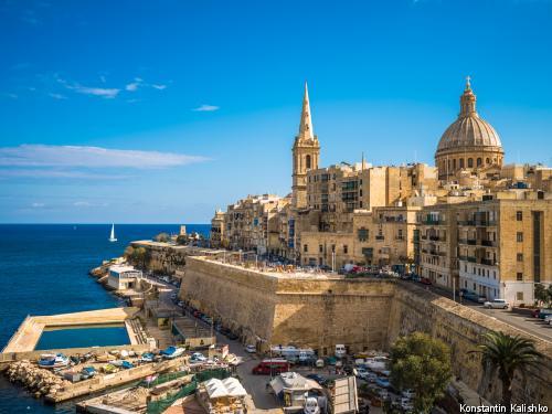Circuit Couleurs de Malte ***